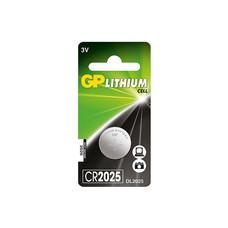 GP ถ่านเม็ดกระดุม รุ่น Lithium Button Cell no.2025 1 ก้อน