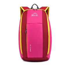 Clever Bees กระเป๋าเป้สะพายหลังสีแดง-ชมพู