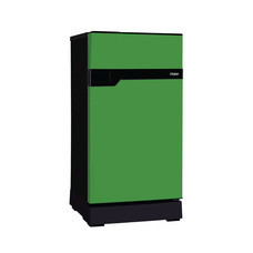 Haier ตู้เย็น 1 ประตู Muse series รุ่น HR-CEQ15 สีเขียว