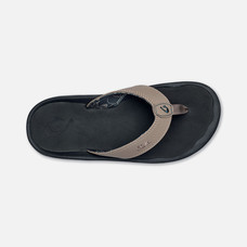 Olukai รองเท้าผู้ชาย 10110-1040 M-OHANACLAY/BLACK 8 US