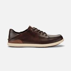 Olukai รองเท้าผู้ชาย 10378-SA20 M-NALUKAI KONACOFFEE/TAPA 8 US