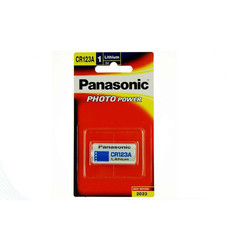 Panasonic Lithium Battery รุ่น CR-123 White