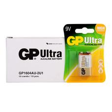 GP Ultra ถ่านอัลคาไลน์ 9V (1กล่อง/10แพ็ก/10ก้อน)