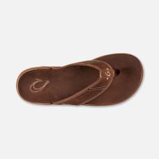Olukai รองเท้าผู้ชาย 10239-SKSK M-NUI RUM/RUM 10 US