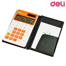 Deli 39277 เครื่องคิดเลขพกพา 12 หลัก พร้อมซอง (คละสี 1 ชิ้น)