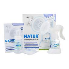 NATUR ชุดปั๊มนมเก็บแบบโยก + ถุงเก็บ + แผ่นซับ