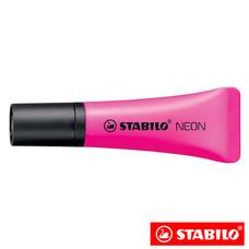 STABILO Neon ปากกาเน้นข้อความ ด้ามนิ่ม Magenta