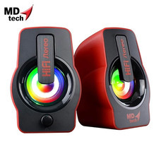 MD-TECH Speaker USB 2.0 SP-16 Red