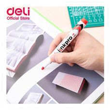 Deli ปากกาไวท์บอร์ด ขนาด 2.0 มม. สีแดง