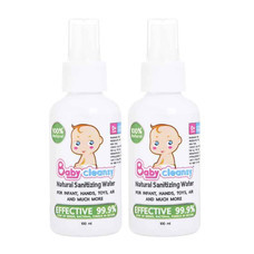 Babycleansy Natural Sanitizing Water 100 มล. (แพ็กคู่)