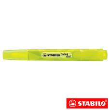 STABILO Swing Cool Colormatrix ปากกาเน้นข้อความ สีนีออน Yellow