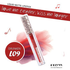 Melynn Love Me Tender, Kiss Me Longer Liquid Matte Lipstick L09 Drunken