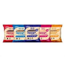 Justines Cookies & Brownie ผลิตภัณฑ์ทานแทนมื้ออาหารเพื่อควบคุมน้ำหนัก คละรส รวม 5 ซอง