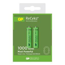 GP ReCyko+ ถ่านชาร์จ รุ่น 1000 ขนาด AAA 950 mAh