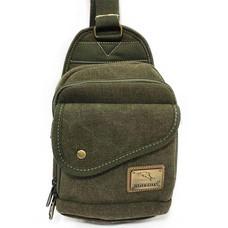 Dolphin bag กระเป๋าคาดอก B814 สีเขียว
