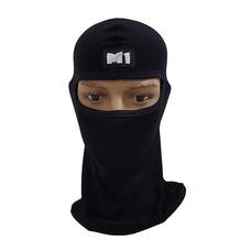M1 หน้ากากมอเตอร์ไซค์ นักซิ่ง หมวกโม่ง รุ่น SPM1 สีดำ