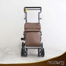NOZOMI รถเข็นช่วยพยุงเดิน รุ่น YX-600 สีน้ำตาล