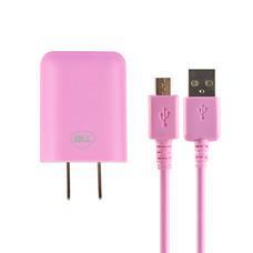 Bill Wall Charge Micro USB BLL2001 ชมพู