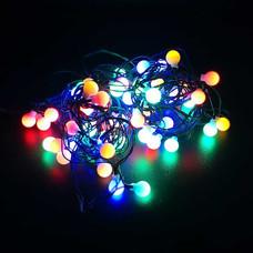 ไฟ LED 60 หัว FROSTED BALL (สลับสี) [LED-F/M]