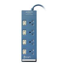 Anitech ปลั๊กไฟ มอก. 4 ช่อง 4 สวิตช์ สาย 3 เมตร รุ่น H3134 สี BL