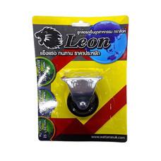 LEON ล้อยางตราสิงห์ แป้นตาย 50 มม. (แบบแพ็ก)