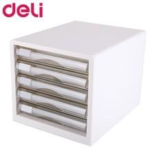 Deli 9777 ตู้เอกสาร 5 ชั้น A4 สีขาว