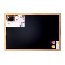 Robin กระดานดำแม่เหล็ก ขอบไม้ 40x60 ซม.