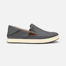 Olukai รองเท้าผู้ชาย 10365-2618 M-KAHU CHARCOAL/OFF WHITE 8 US