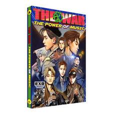 CD EXO 4th Repackage Album The War - THE POWER OF MUSIC (Korean Ver.) [Import]