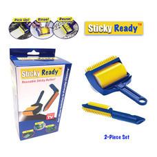 Sticky Ready ลูกกลิ้งทำความสะอาด แบบล้างแล้วใช้ซ้ำได้ (เซ็ต 2 ชิ้น)