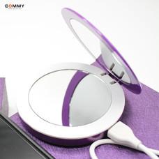 Commy PowerBank 3,000 mAh Puff-L Purple