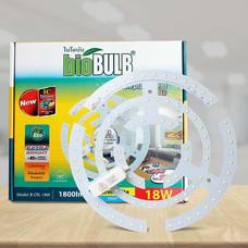 Bio Bulb หลอดใส้ LED ซาลาเปา 18 วัตต์ แสงวอร์มไวท์
