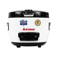 Mitsumaru หม้อหุงข้าวความจุ 1.5 ลิตร (ฝาแก้ว) ระบบอุ่นทิพย์ รุ่น AP-501T