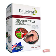 Fullvital Cranberry Plus ฟูลไวทอล แครนเบอรี่ พลัส 30 แคปซูล
