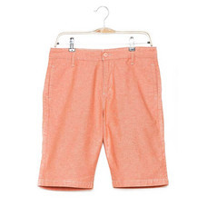 BJ JEANS กางเกงขาสั้น รุ่น BJMSSB-560 #Oxford ส้ม 38