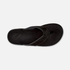 Olukai รองเท้าผู้ชาย 10239-OXOXM-NUI ONYX/ONYX 9 US