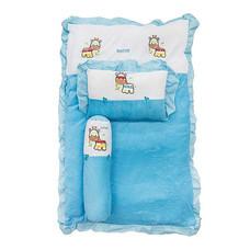 NATUR ที่นอนปิกนิคผ้าขนหนู 22 x 36 นิ้ว สีฟ้า