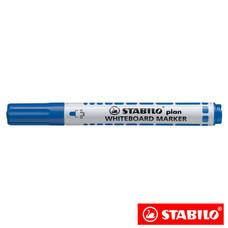 STABILO Plan ปากกาไวท์บอร์ด หัวกลม Blue