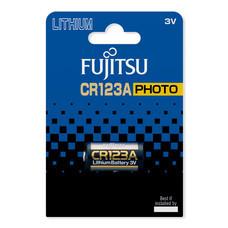 Fujitsu ถ่านลิเธี่ยม CR123A(B) 3V. แพ็กละ 1 ก้อน