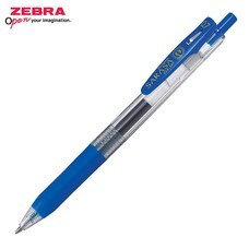 Zebra ปากกาหมึกเจล Sarasa Clip 0.7 มม. JJB15-BL หมึกสีน้ำเงิน (12 ด้าม/กล่อง)