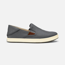 Olukai รองเท้าผู้ชาย 10365-2618 M-KAHU CHARCOAL/OFF WHITE 9 US