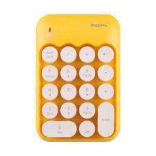 Mofii แป้นพิมพ์ตัวเลขไร้สาย 2.4 GHz รุ่น BISCUIT Yellow