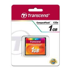 TRANSCEND CF CARD 133x CompactFlash (Standard) 1GB