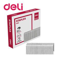 Deli 0013 Staples ลวดเย็บกระดาษ 80 แผ่น เบอร์ 23/13 เย็บได้ 1,000 ครั้ง