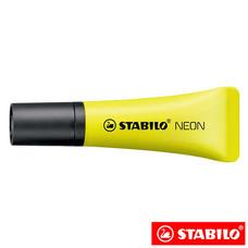 STABILO Neon ปากกาเน้นข้อความ ด้ามนิ่ม Yellow