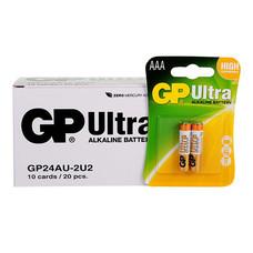 GP Ultra ถ่านอัลคาไลน์ AAA (1กล่อง/10แพ็ก/20ก้อน)