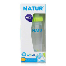 NATUR ขวดนมปากกว้าง hybrio 8 ออนซ์