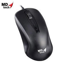 MD-TECH Optical Mouse USB MD-67 Black