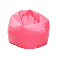 Your Style บีนแบ็กทรงกลมใหญ่หนังเทียม Pink