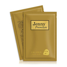 JENNY PREMIUM SPECIAL GOLD FACIAL MASK แพ็ก 10